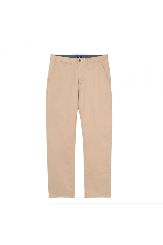 senaste designen bra försäljning till salu Gant GANT Khaki Regular Twill Chino - Menswear from Hotspur 1364 ...